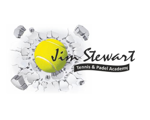 Jim Stewart Logo white